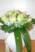Svatební kytice kulatá